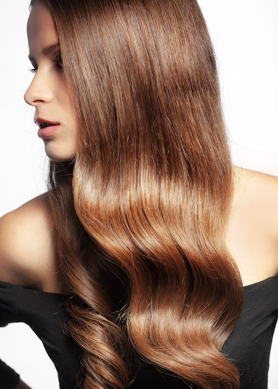 image cheveux longs D'alberto haute coiffure