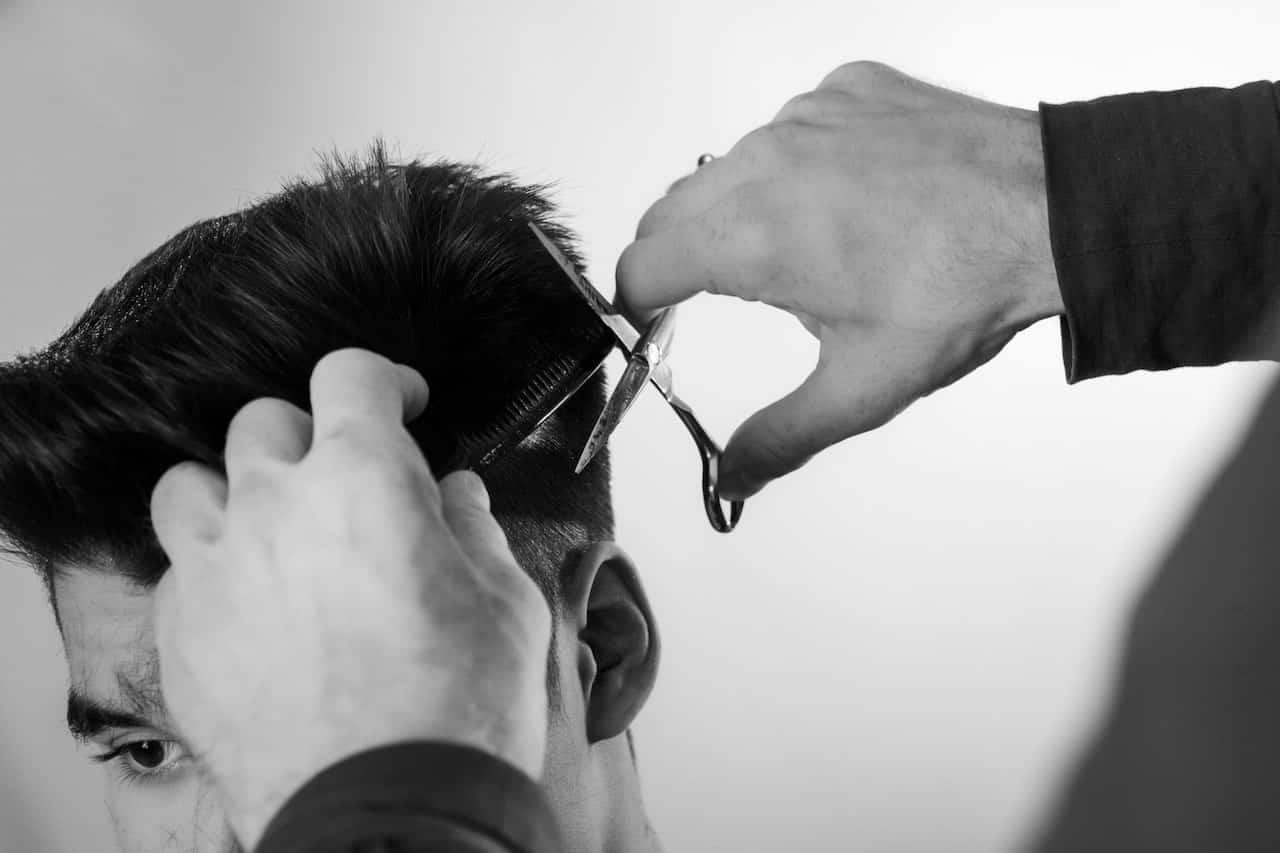 coiffure homme D'alberto haute coiffure